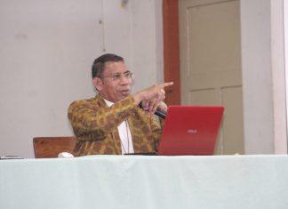 Uskup Dominikus Saku Menitip Pesan Untuk Para Imam
